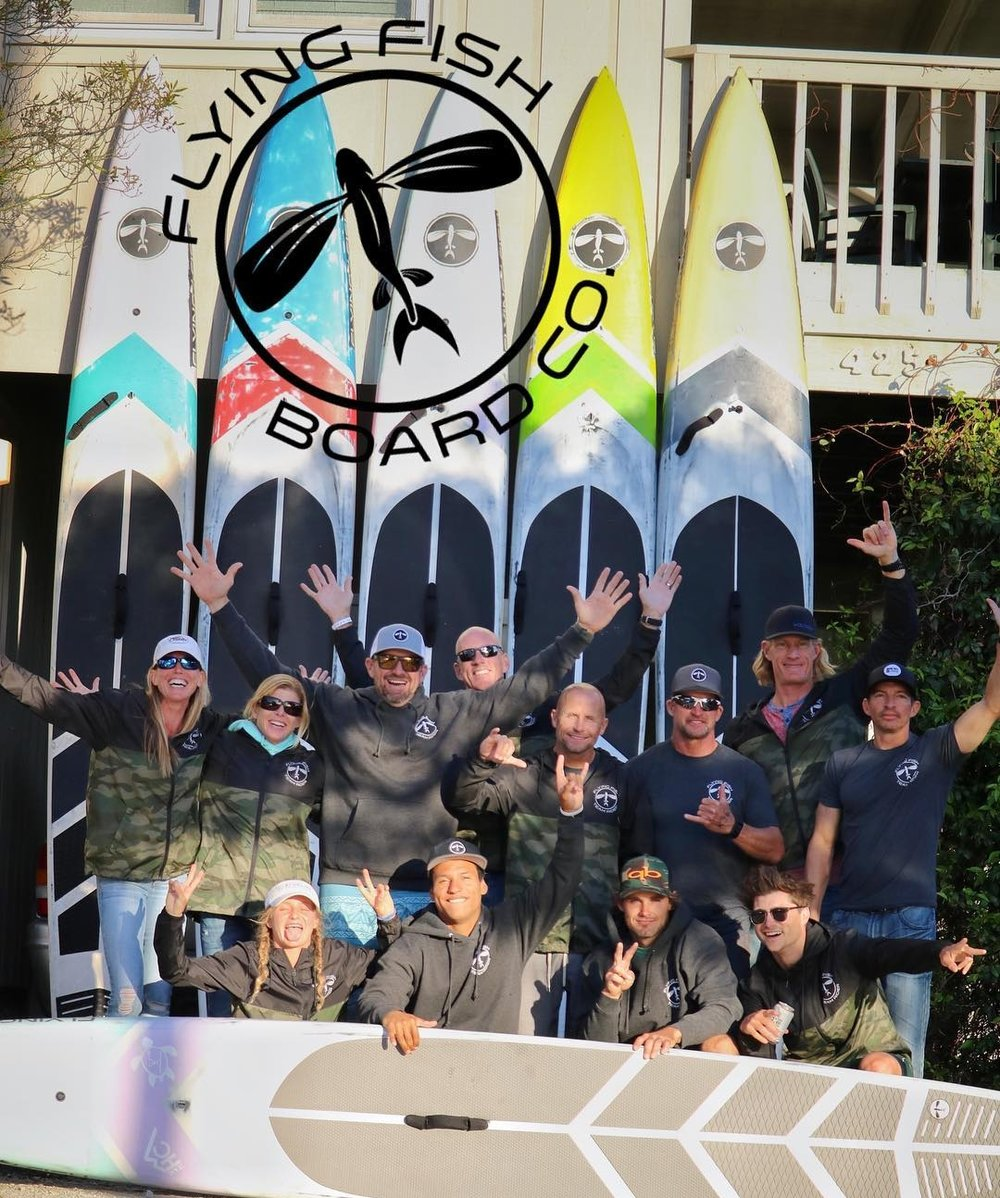 FLYING FISH BOARD COMPANY TEAM RIDERS AT THE CAROLINA CUP 2018 IN NORTH CAROLINA WITH THEIR CUSTOM FLYING FISH PADDLE BOARDS.