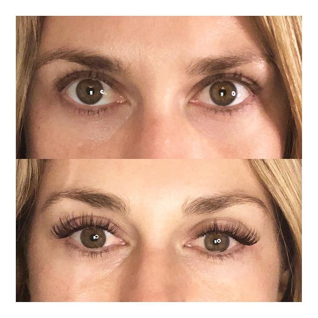 The best thing about lash extensions is saying goodbye to mascara and waking up looking better than if you had tried. You can wear less makeup or ditch it all together and still look and feel feminine and beautiful 💕#wakeupwithlashes #lashextensions #beauty #wakeupwithmakeup #thelittlecanary #lashartist