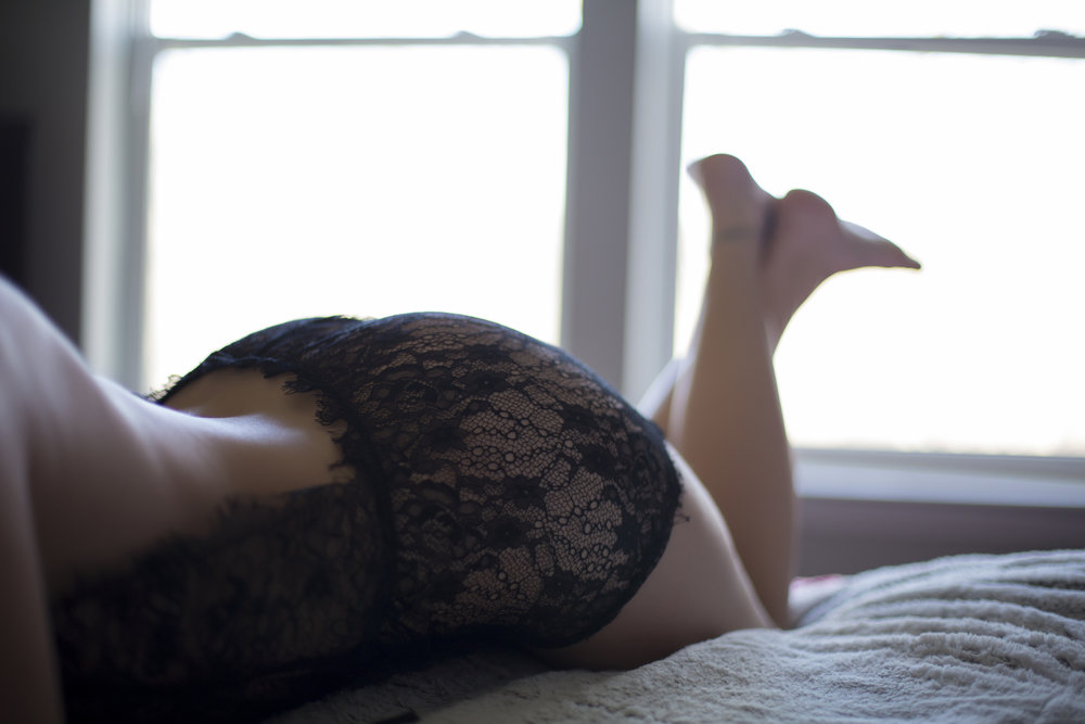 Lace + Boudoir + Natural Light