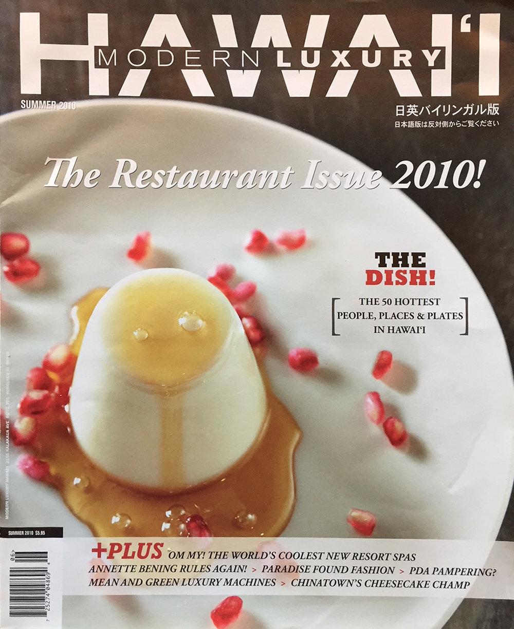 Modern Luxury Hawaii Magazine