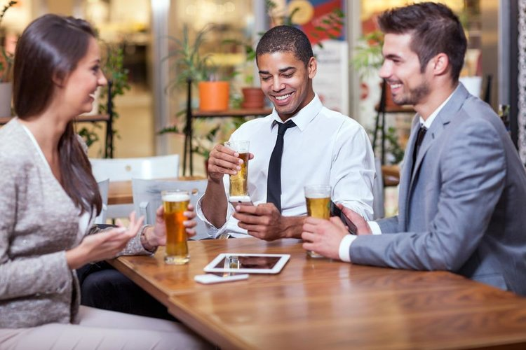Business Professionals Speed Networking in Long Island