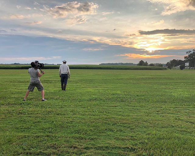 Everybody loves a happy ending!  This one made the crew VERY happy!  What a beautiful night for some sunset shots.  #scene2 #videoproduction #kansascity #behindthescenes #sunset