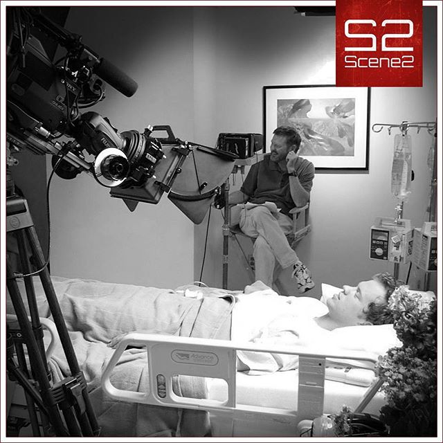 We couldn't just let this actor die in peace.  Nope, we had to get every last breathe on camera. :-) . #scene2 #videoproduction #kansascity #acting #videography