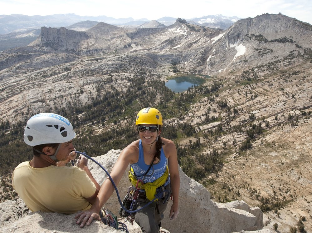 Kate BeezleyExecutive Director - Kate Beezley's decade and a half of climbing started in the Sierras, and since then, she's been fortunate to hone her skills at crags across the country, as well as in Europe and South America.Kate's been a Boulder-area local since relocating here in 2005 to work on her PhD, and has come to appreciate the sanity-saving value of having such a bounty of climbing in her backyard. As executive director, she's committed to making sure these well-loved areas are equally well taken care of.Before joining the BCC as executive director, Kate was on the organization's board. She recently wrapped on a 15-year career teaching social studies, most recently at Lafayette's Peak to Peak Charter School.When not out at the crag with her fellow slommies (mommies who slay), you can find her hanging out with her husband, young son, and canine companion, often on some adventure involving their Scamp, a lot of dirt, and some wild places.