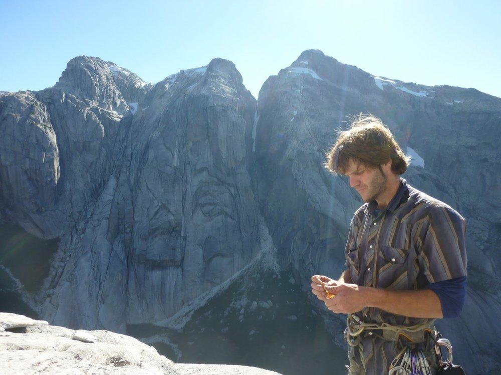 JB Haab in Patagonia