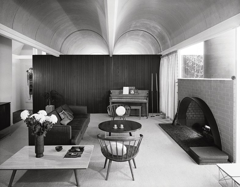 Richard Dorman & Associates, Vault Roof House, Sherman Oaks, 1959
