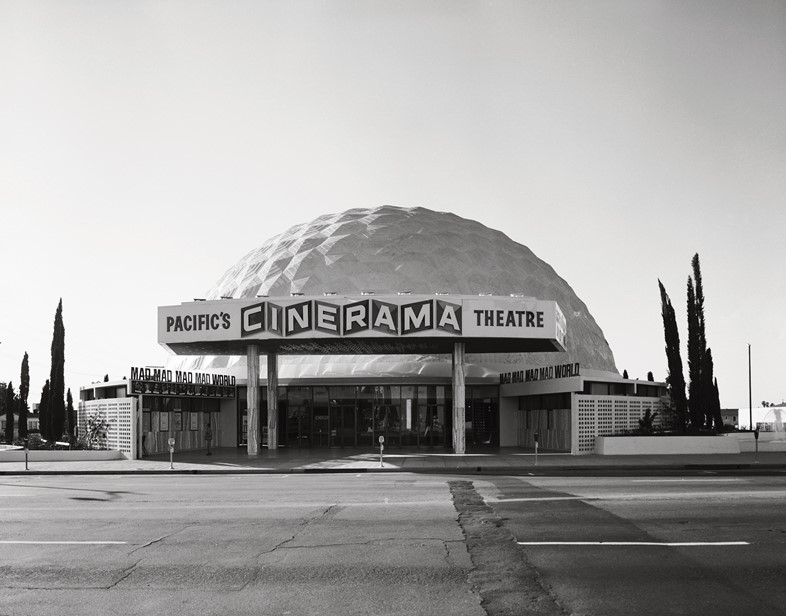 Welton Becket & Associates, Cinerama Dome, Hollywood, 1963