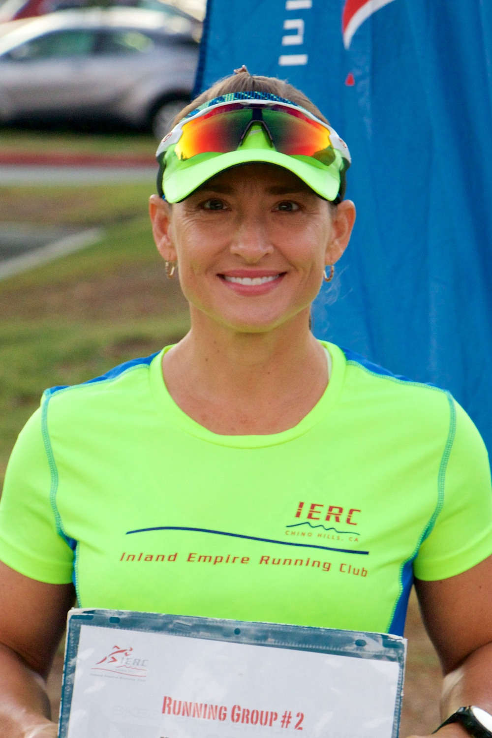 Brenda Daley - 8:30/mile race pace10:00/mile aerobic pace