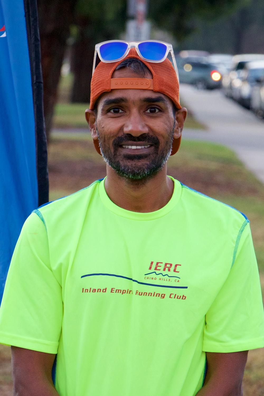 Ravi Kumar Singh - 8:30/mile race pace10:00/mile aerobic pace
