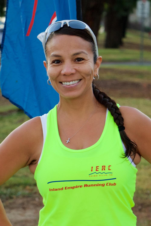 Martha Camareno - 12:00/mile race pace13:30/mile aerobic pace