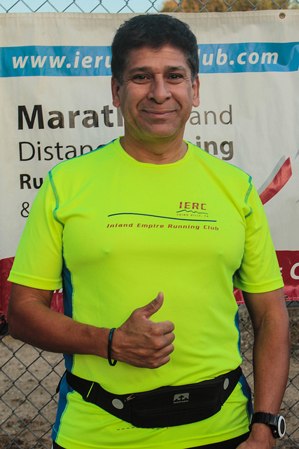 Lawrence Renteria - 10:00/mile race pace11:30/mile aerobic pace