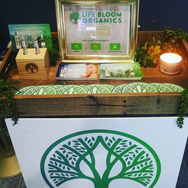 Stop by The Green Rose on Melrose and check out our CBD LIFEBLOOM products! Free Samples All Day.