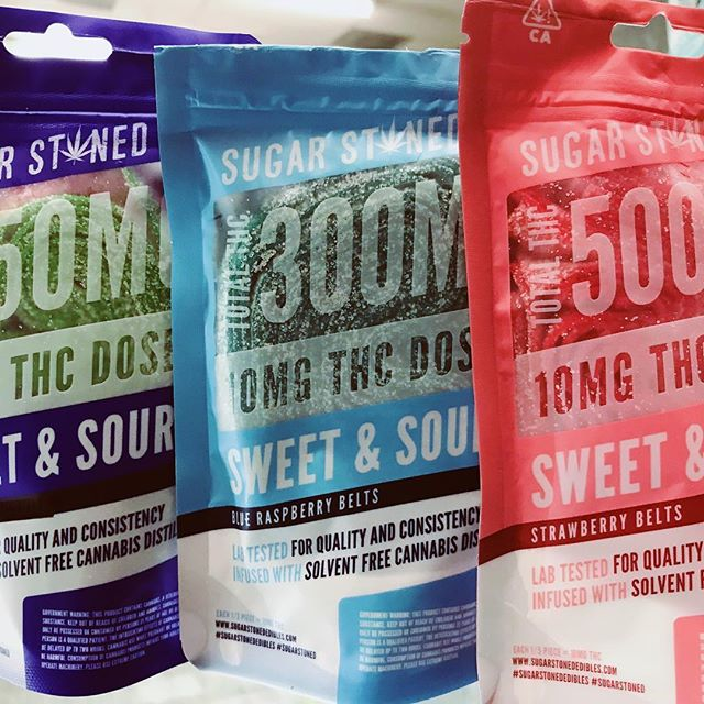 R-R-RESTOCKED ON ALL FLAVORS AND CANDIES 👉🏼👉🏼👉🏼 I know, I know, SAY LESS 🤫 #sugarstoned #edibles #b2g1 #weedstagram420 #cannabiscommunity #weedporn