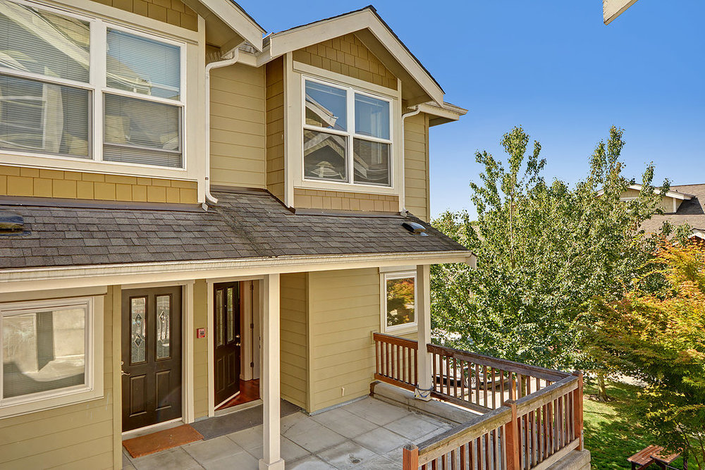 Seward Park Townhome - Sold $381,000