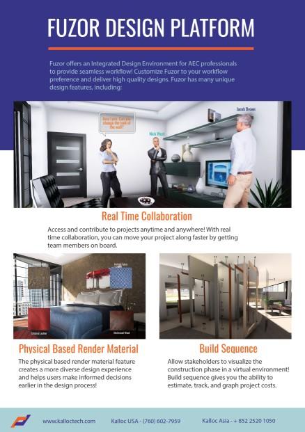 Fuzor Design Platform