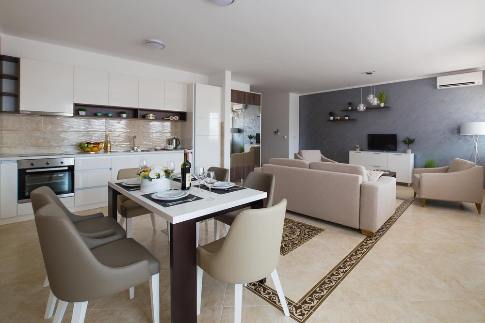 PACKAGE 2 - TWO   BEDROOM APARTMENTS  Features:Sea View, Air Conditioning, Modern Suite, Full Size Bed
