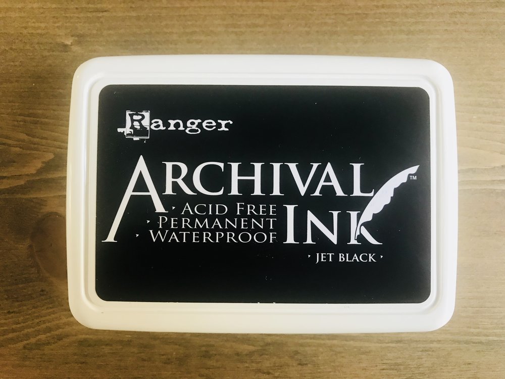 Ranger Archival Ink Pad - £6.50 | A range of colours | Acid free | Refillable