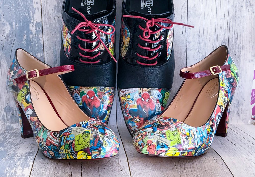 From The Spectrum - Alt Hand Customised Wedding Trainers & Decoupage Shoes | UK Shipping