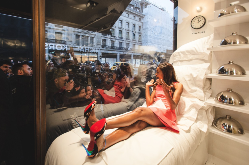 Jennifer Rubell's 'Sweets Suite' for the Kate Spade launch of London Flagship store