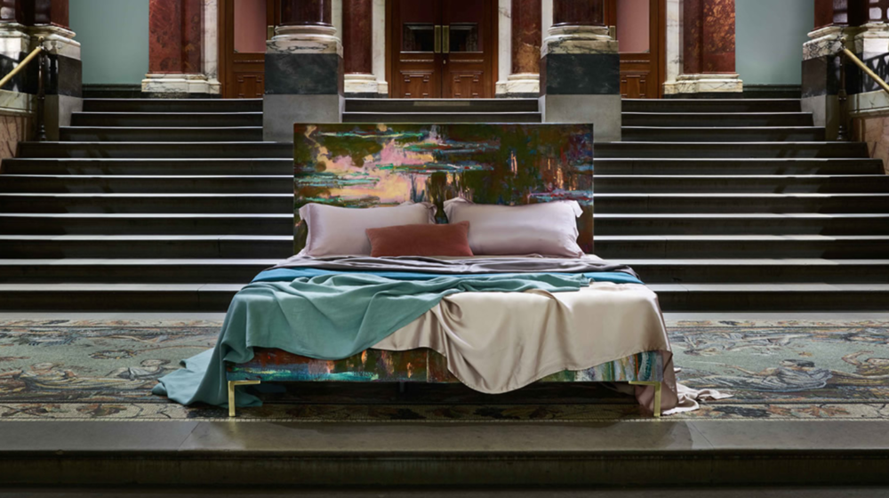 Savoir Beds X Monet 'Waterlilies' National Gallery Collection