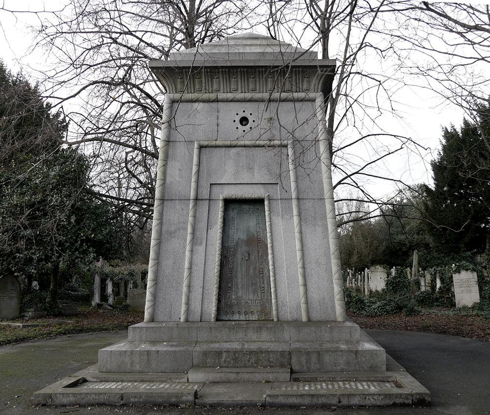 El mausoleo de Hannah. // Foto: Wikimedia Commons