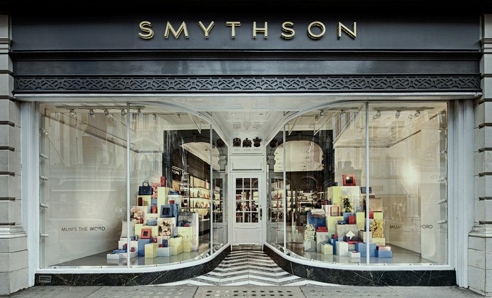 Smythson's, hoy.