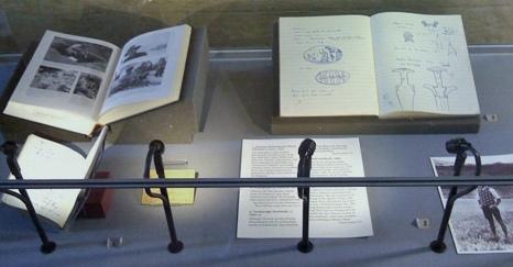 Los cuadernos de Chatwin en la Bodleian.