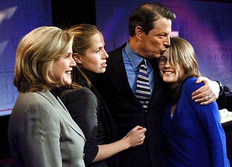 Al Gore, un hombre de familia.