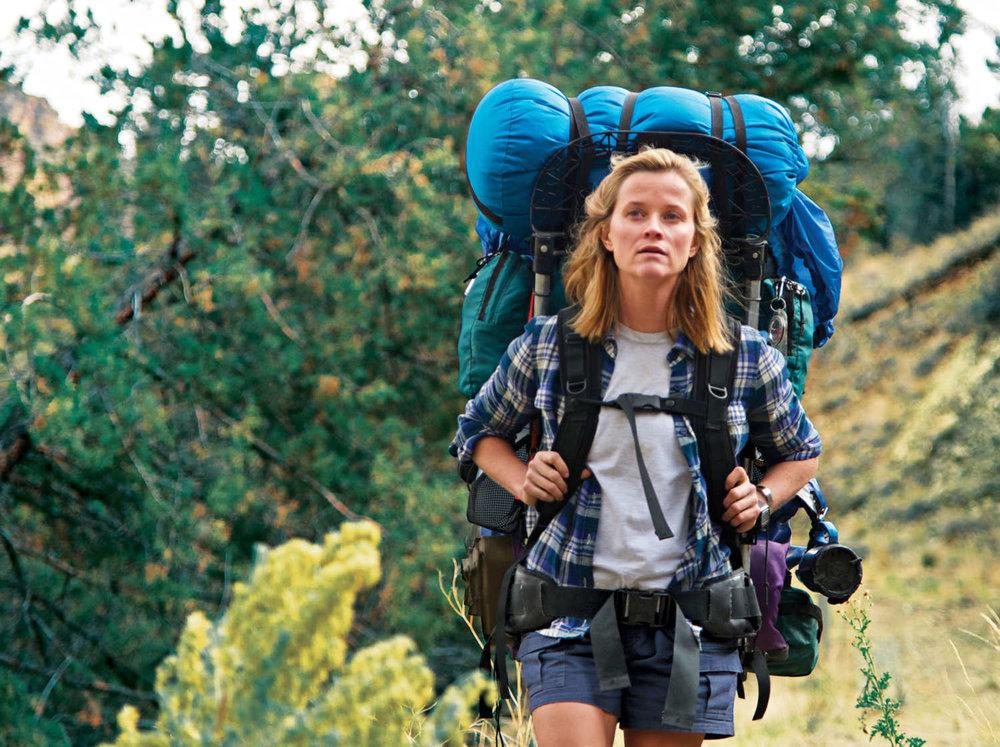 Reese Witherspoon en la versión cinematográfica de Wild.