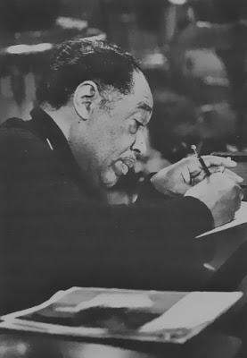 Duke Ellington con su Blackwing.