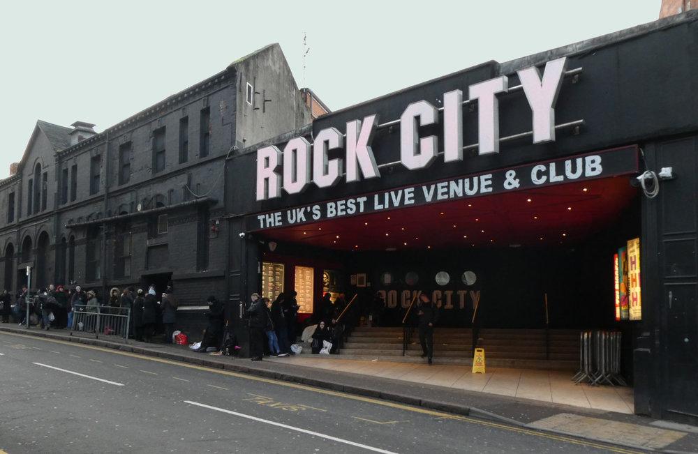 El Rock City de Nottingham.