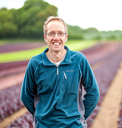 Stuart Carless - Baby Leaf Salads Production Manager