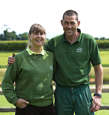 Sean And Penny Ede - Watercress And Production Managers