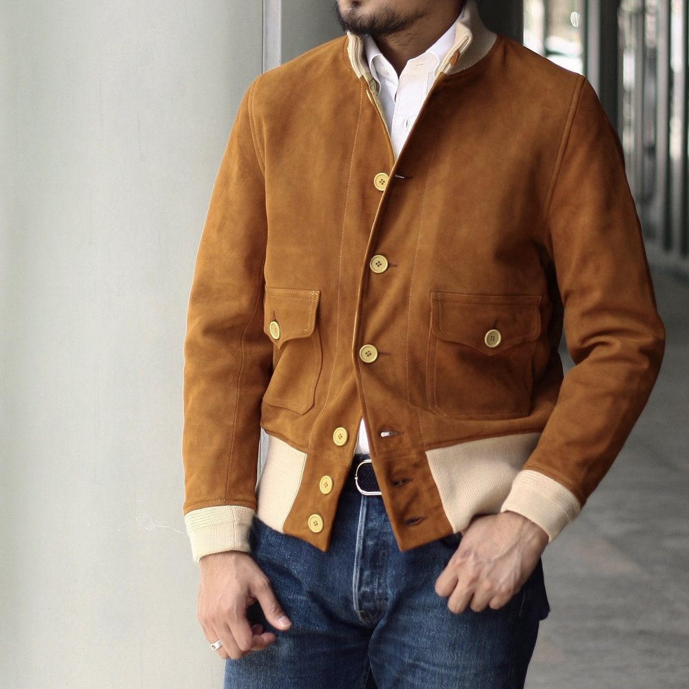 Chapal A1 Suede Jacket
