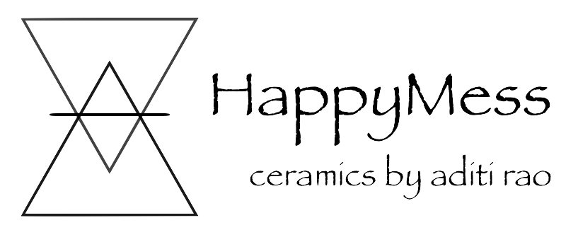 happymess ceramics logo