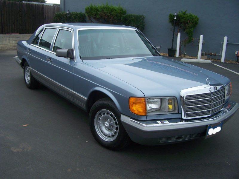 - 1985 Mercedes 560 SEL