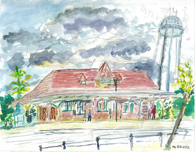 Manassas Train Station
