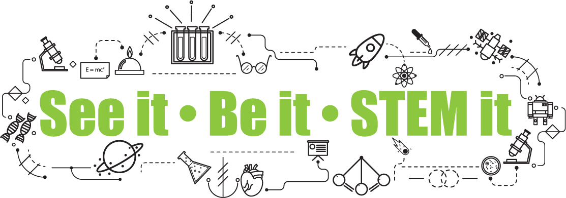 SEE IT BE IT STEM IT