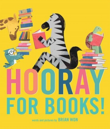 Hooray for Books!   Turtle has looked everywhere for his favorite book, but it's nowhere to be found! Maybe his book was borrowed by Zebra, Owl, Giraffe, Elephant, or Lion. As Turtle searches, his friends offer to share their own favorite stories, but other books just won't do.    September 12