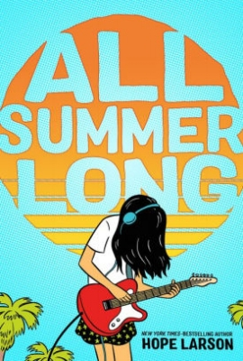 A coming-of-age middle-grade graphic novel about summer and friendships, written and illustrated by the Eisner Award–winning and  New York Times –bestselling Hope Larson.  Thirteen-year-old Bina has a long summer ahead of her. She and her best friend, Austin, usually do everything together, but he's off to soccer camp for a month, and he's been acting kind of weird lately anyway. So it's up to Bina to see how much fun she can have on her own. At first it's a lot of guitar playing, boredom, and bad TV, but things look up when she finds an unlikely companion in Austin's older sister, who enjoys music just as much as Bina. But then Austin comes home from camp, and he's acting even weirder than when he left. How Bina and Austin rise above their growing pains and reestablish their friendship and respect for their differences makes for a touching and funny coming-of-age story.  Released May 1