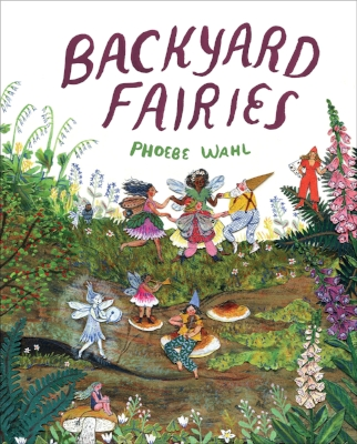 A girl searches for fairies in her backyard and the woods beyond, following little clues and traces of magic. Fairies and other magical creatures can be found on every page, hidden among the flowers, trees and pebbles. But although readers can see them, the girl keeps searching, just one step behind... In the end, it is clear (both to the girl and readers) that there is magic all around, even when it's hidden in plain sight.