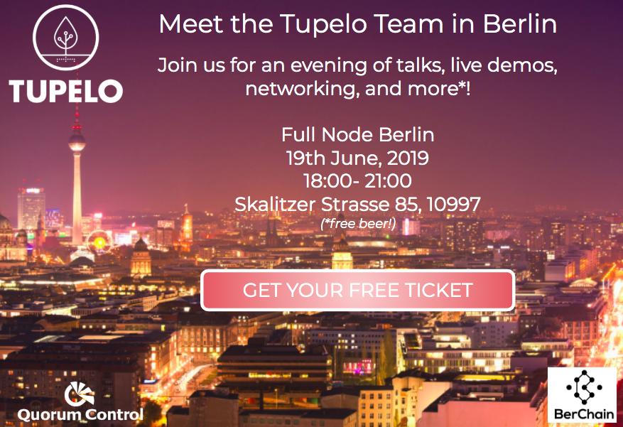 Join Us in Berlin on June 19th! — Tupelo