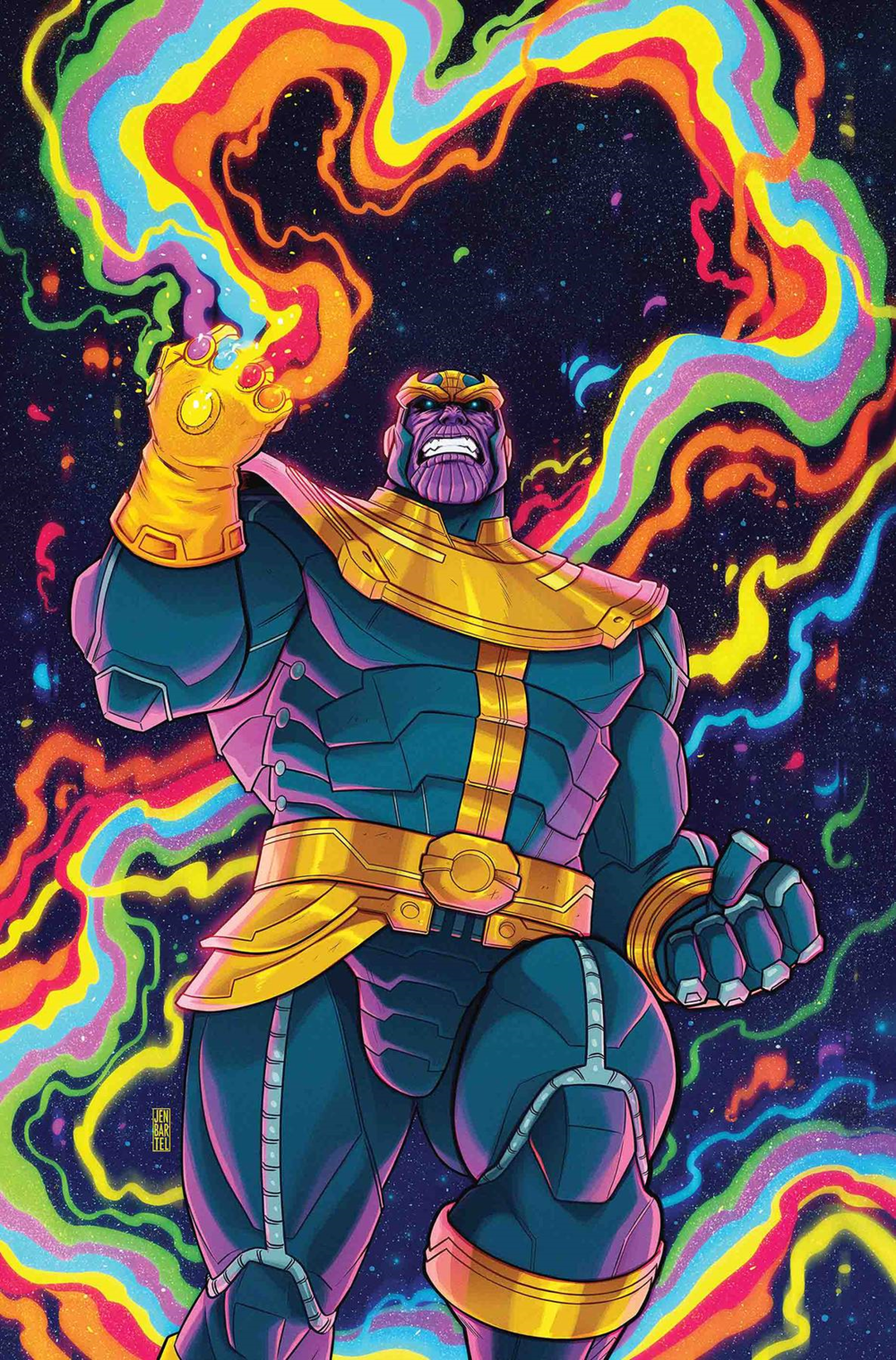 Marvel Tales Thanos #1 cover by Jen Bartel