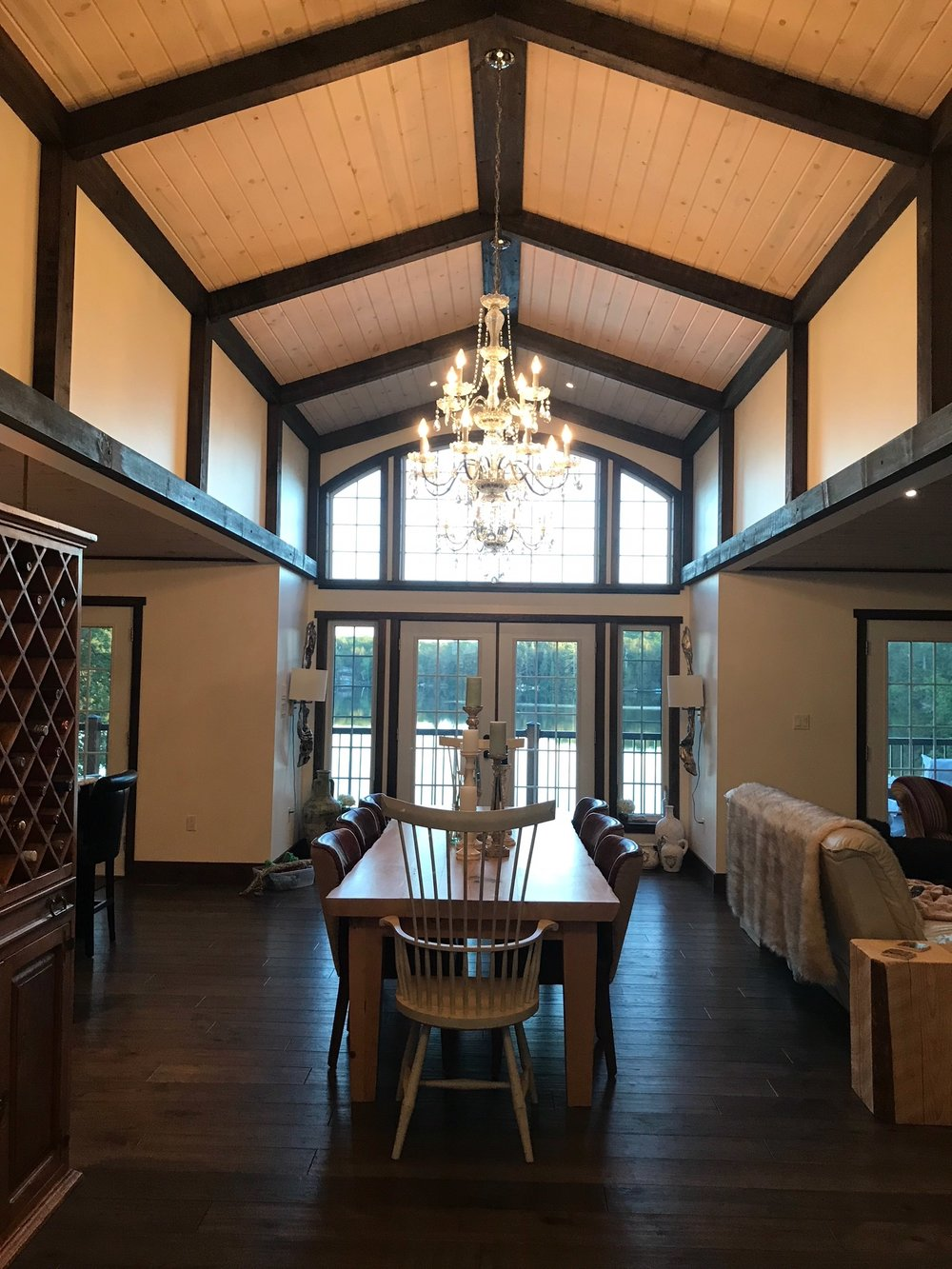 Haliburton Home Interior Dining Room