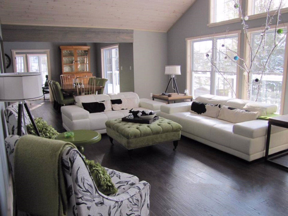 Custom Haliburton Cottage Livingroom