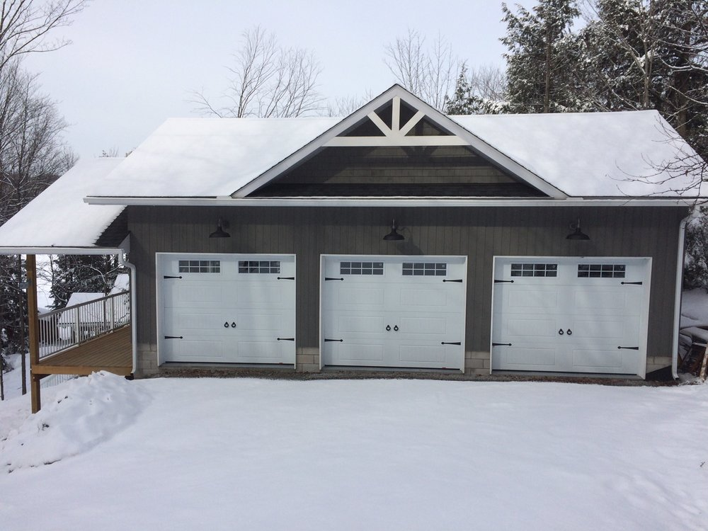 Custom Haliburton Garage