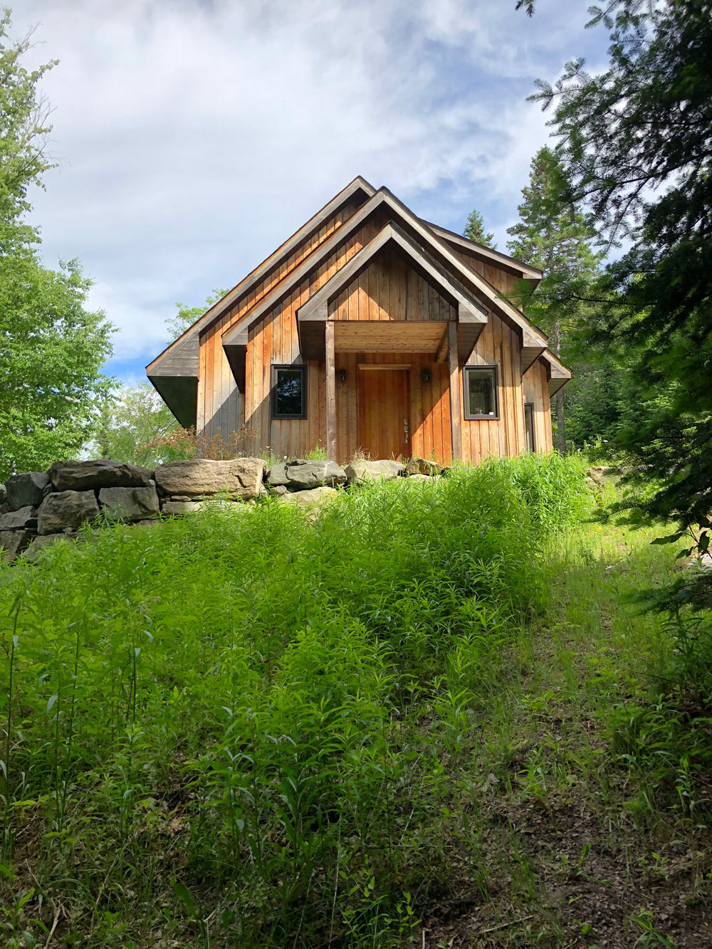 Custom Sustainable Woodland Home in Haliburton