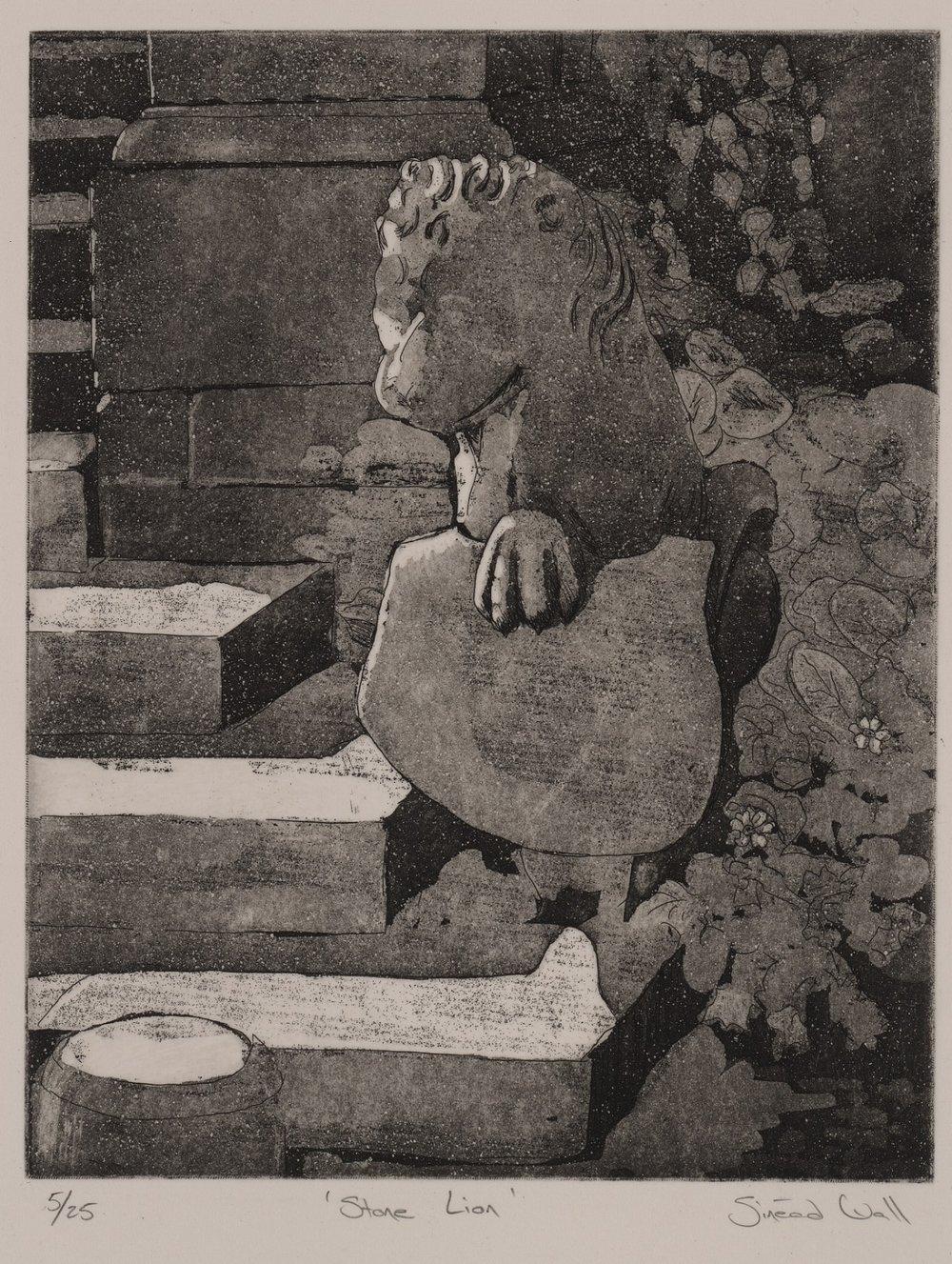 'Stone Lion' Westport House