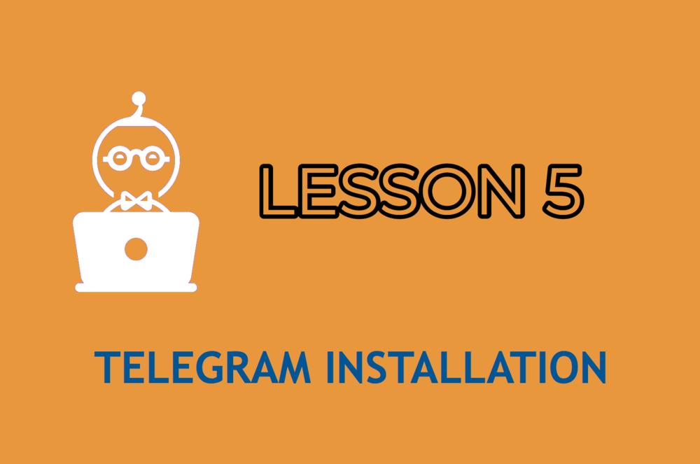 LESSON 5    ENTER