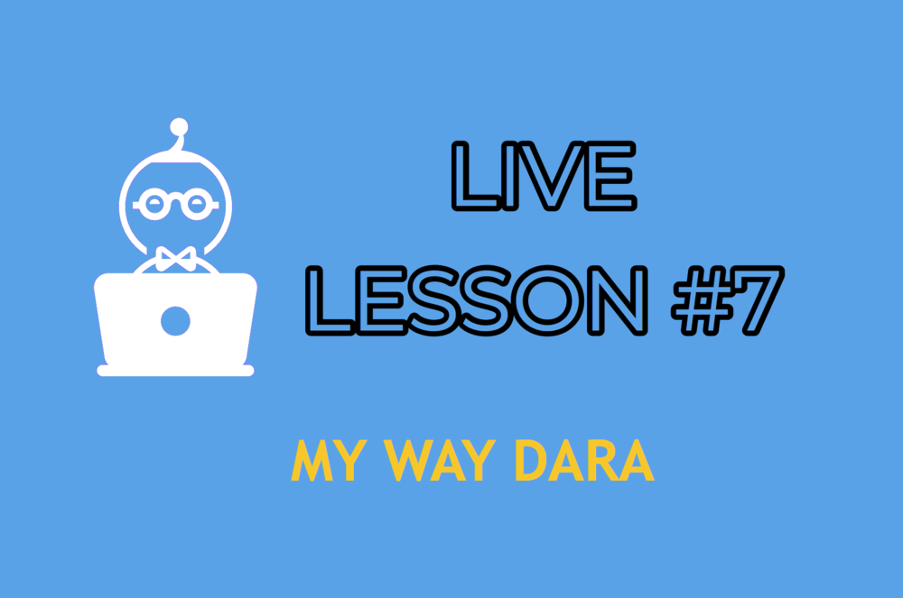 LESSON 7    ENTER